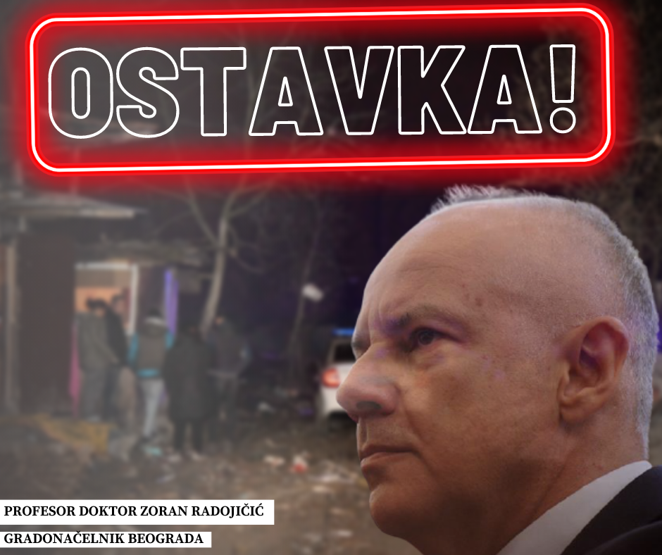 Tragedy in Čukarica still invisible for Belgrade mayor - ORS requests resignation