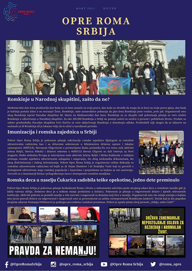 Newsletter - March 2021